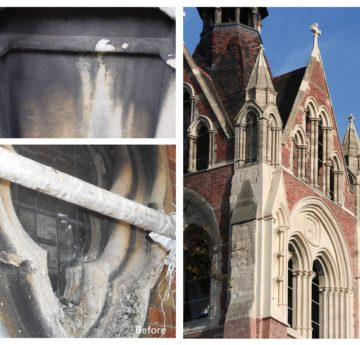 Masonry Cleaning – We use 'Heritage Approved' Methods. 1