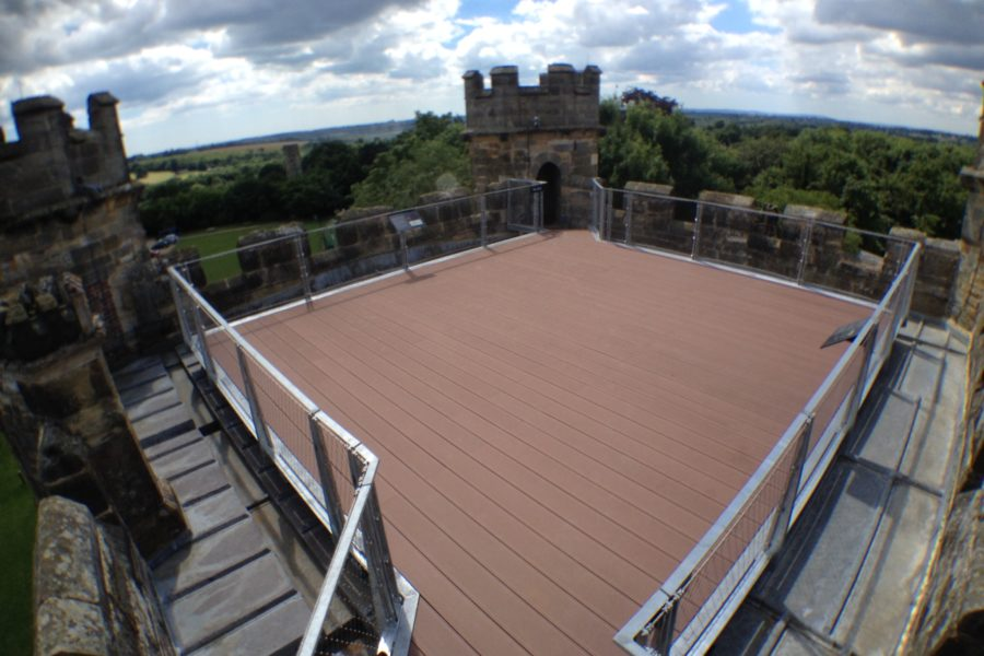 Battle Abbey Viewing Platform 14