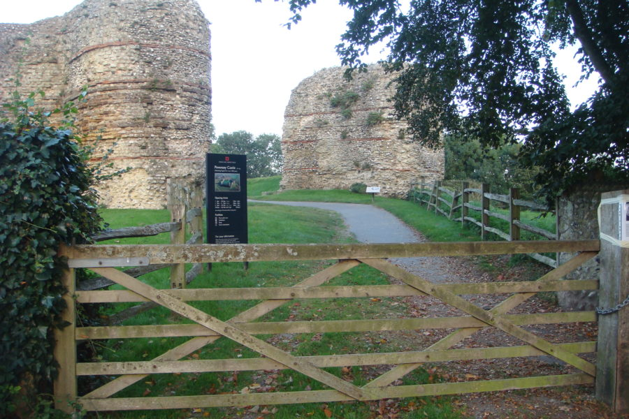 Pevensey Castle 8