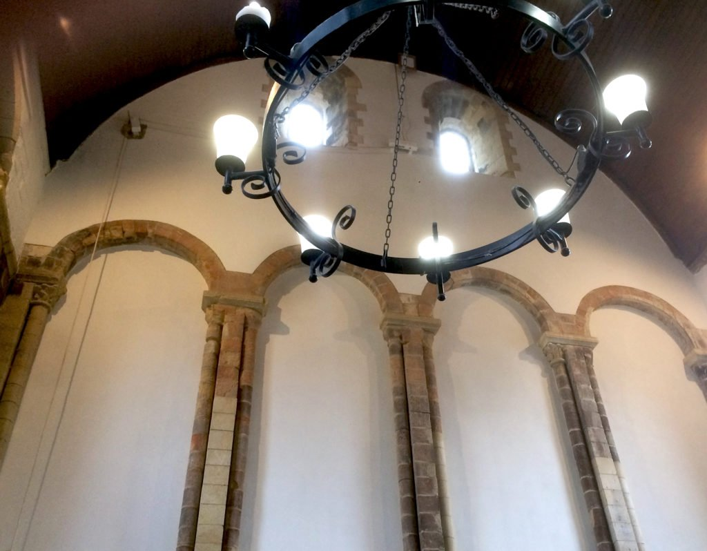 One of the Oldest Refectory in England Undergoes Conservation to Restore Gable Walls. 3