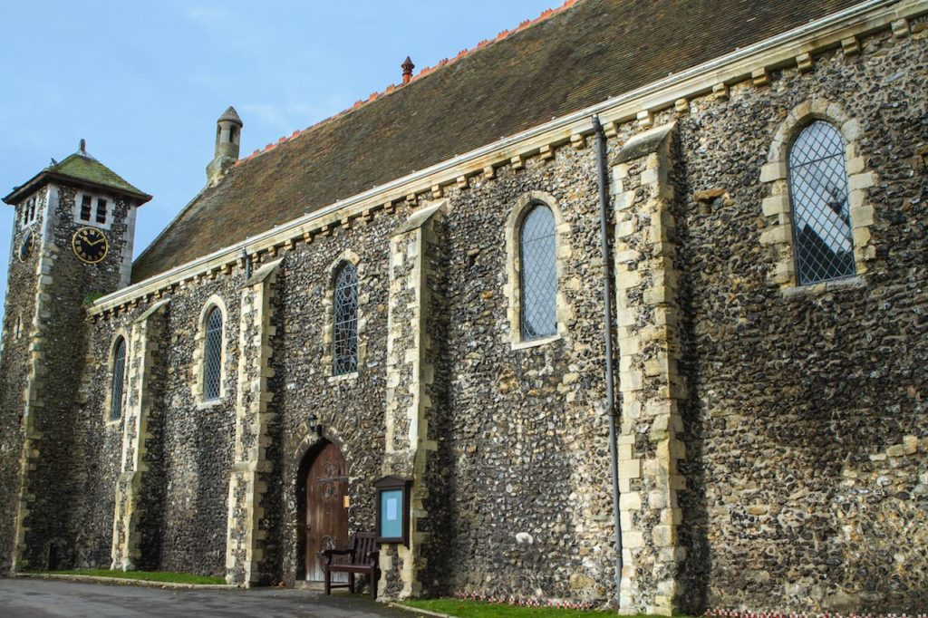One of the Oldest Refectory in England Undergoes Conservation to Restore Gable Walls. 5