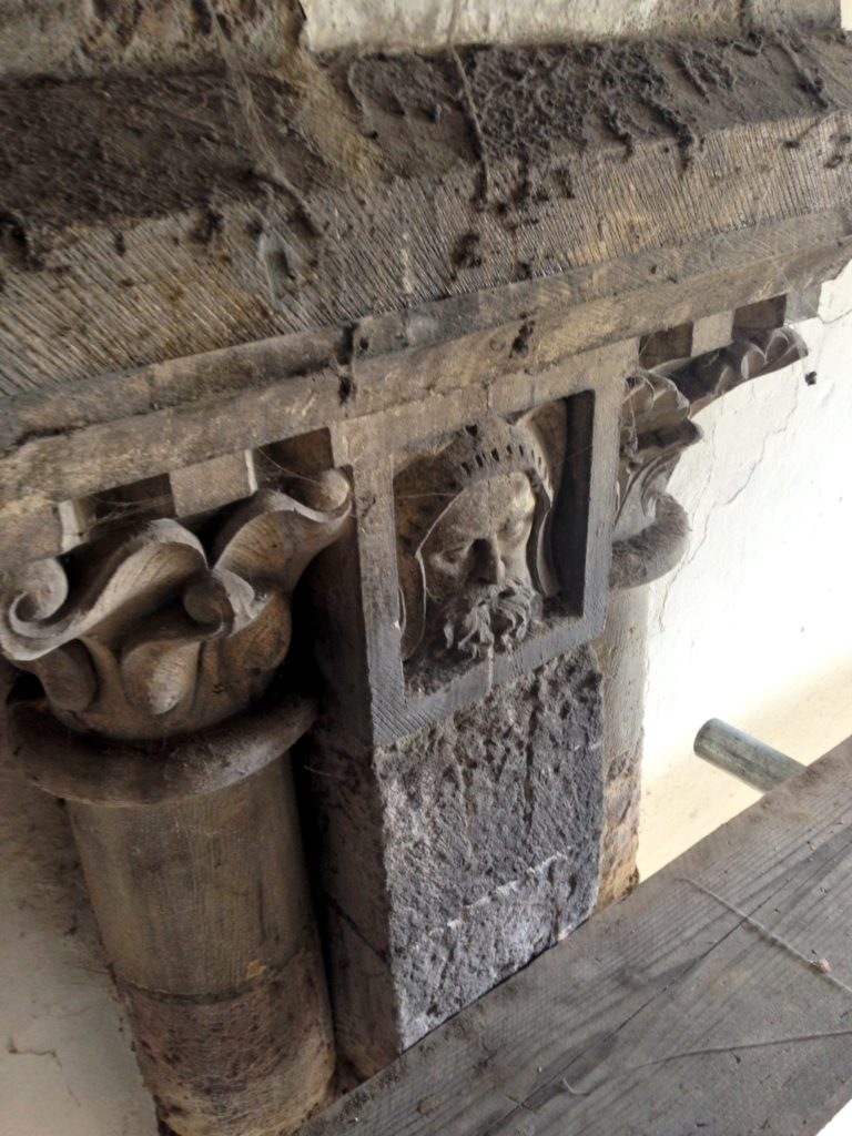 One of the Oldest Refectory in England Undergoes Conservation to Restore Gable Walls. 12