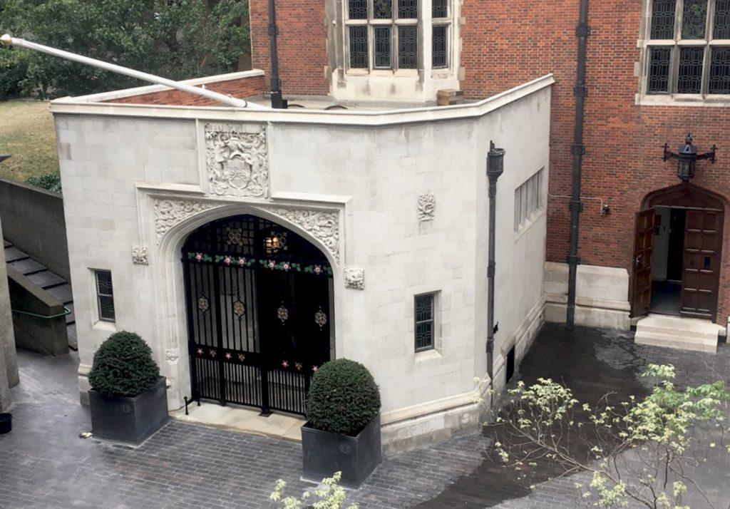 Worshipful Company of Ironmonger's Undergoes External Restoration 1