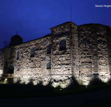 USL Lights Up the Oldest Town Wall in Britain 2