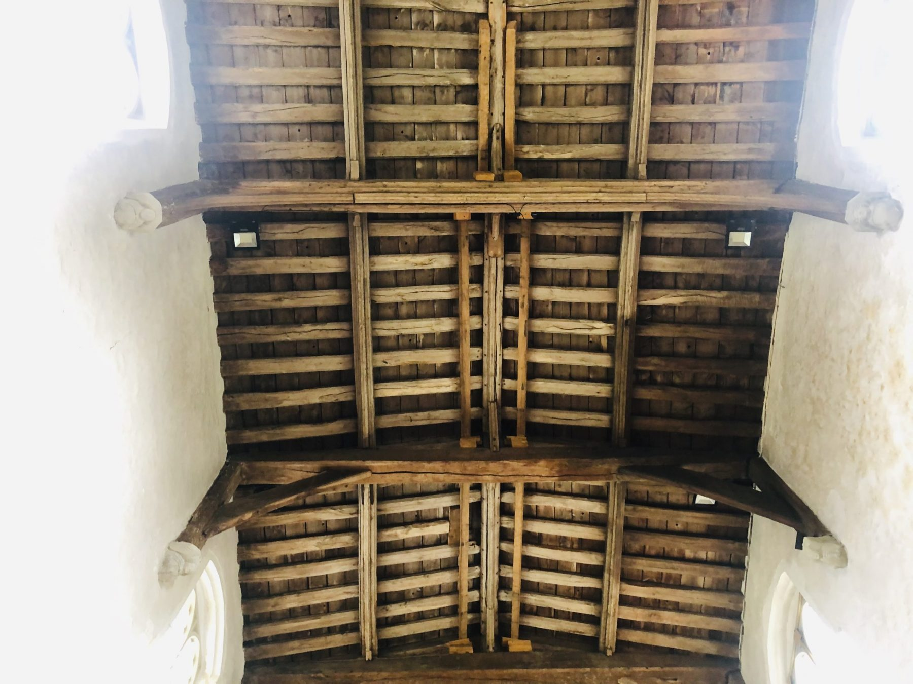 Let the conservation repairs begin…at St Leonard's Church, Flamstead 5