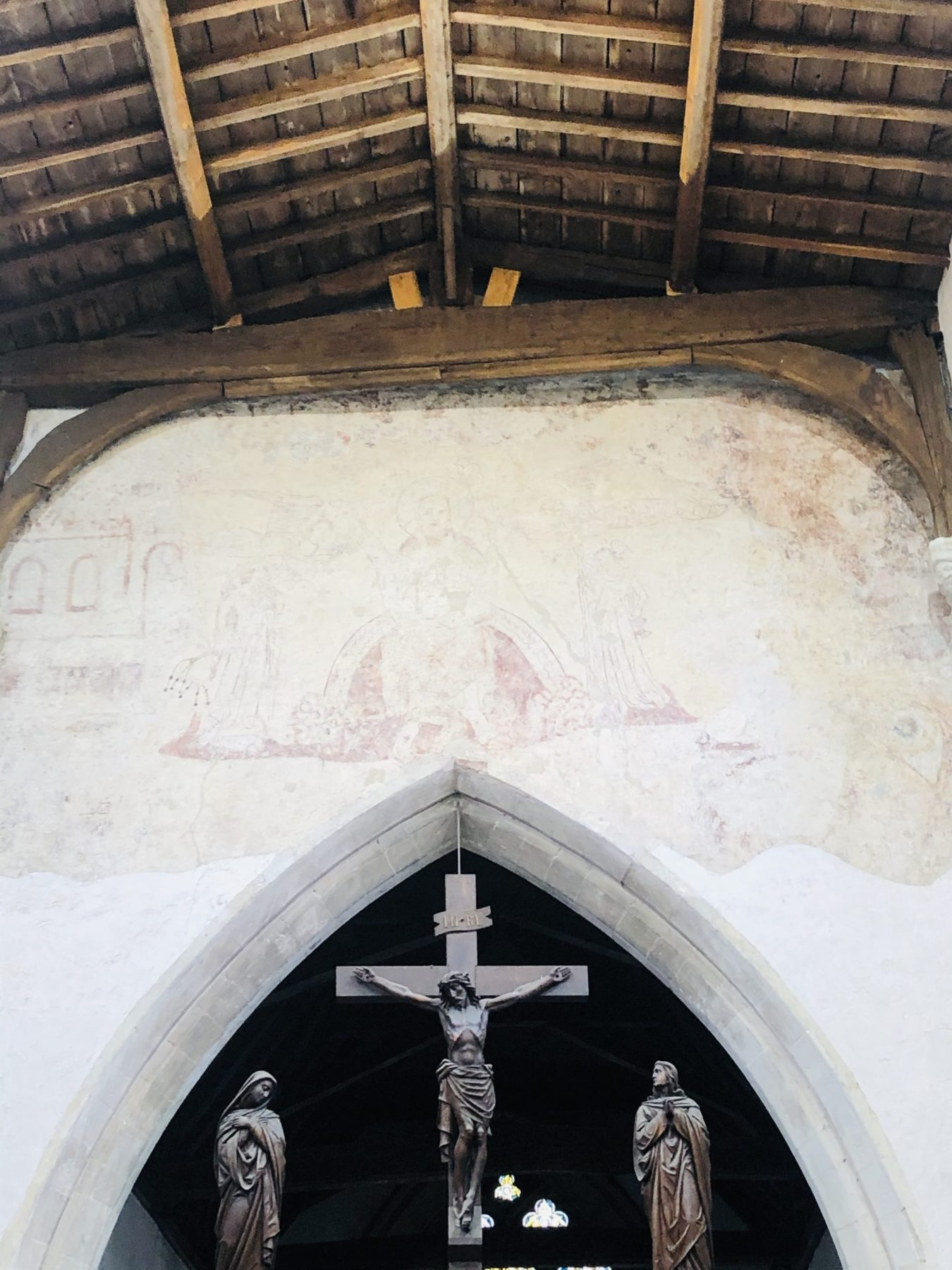 Let the conservation repairs begin…at St Leonard's Church, Flamstead 3