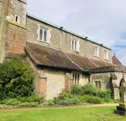 Let the conservation repairs begin…at St Leonard's Church, Flamstead 2