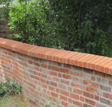 Boundary Wall at Holy Trinity Bungay Suffolk 6