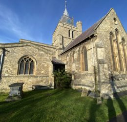 New Cross for Medieval Church St Mary in Aylesbury - Video 2