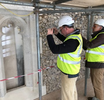 Community Engagement & Hard Hat Tours at St Leonard's Church Flamstead 3