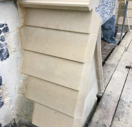 South Aisle Walling Repairs at The Minster, Great Yarmouth 8